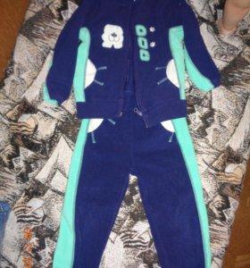Теплый спортивный костюмчик и джинсы