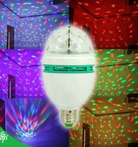 Лампа светомузыка