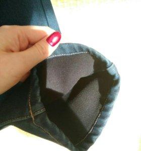 Новые джинсы на флисе, 50 размер
