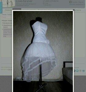 Вечерние коктейльные платья. Короткие свадебные