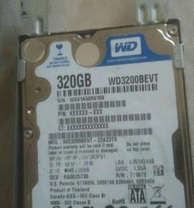 Жесткий диск 320гб