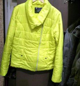 Куртка пуховик 50-52