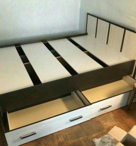 Кровать 160 +матрас! Новые!
