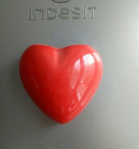 Кашпо сердце магнит