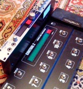 Гитарный процессор Digitech GSP1101+Control 2