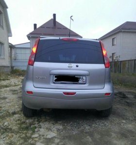 Nissan Note luxuri 2008 г.