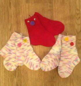 носочки для маленьких деток