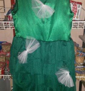 Новогоднее платье (ЁЛОЧКА) На возраст 2-4