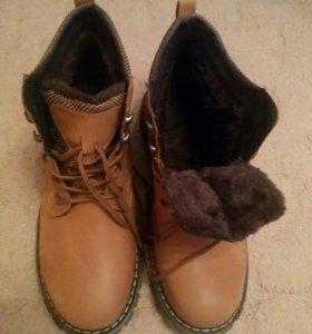 Зимние мужские ботинки 45-46 раз.