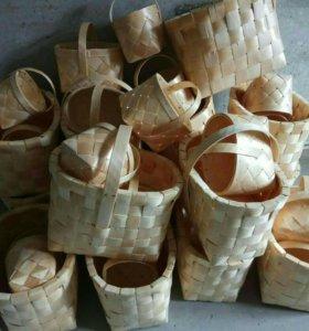 Коробици , корзины грибные 2х ведерные , набороши
