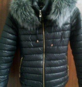 Куртка зимняя мех искусственный