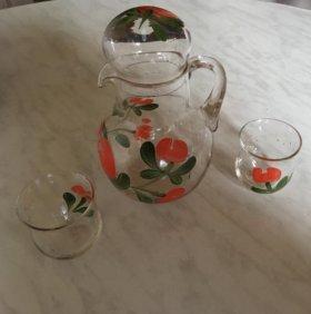 Графин и 2 стаканчика