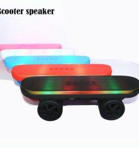 Колонка скейт Bluetooth