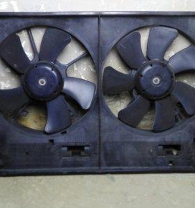 Диффузор радиатора мазда мпв 1999-2002