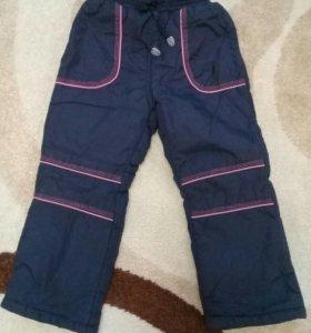 Новые болоневые брюки зима