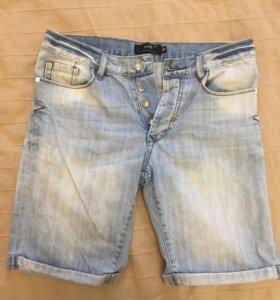 Мужские джинсовые шорты Oodji
