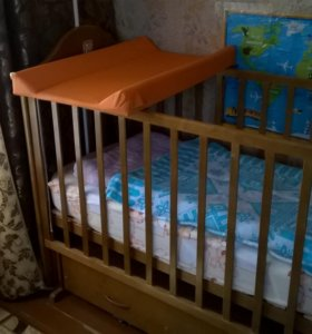 Кроватка маятник и все что к ней нужно