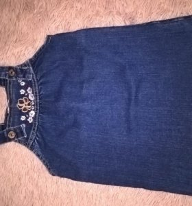 Сарафан джинсовый 110 размер