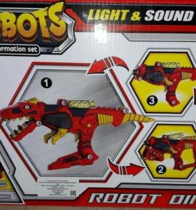 Бластер робот-динозавр