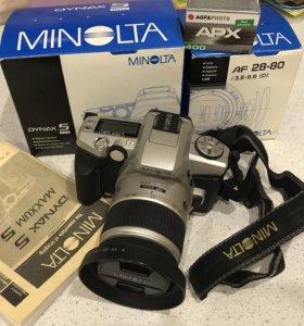 Minolta Dynax 5 пленочная зеркалка