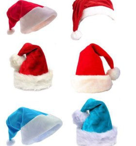 Качественные шапки деда мороза