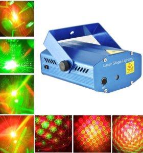 Лазерное шоу проектор