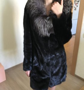 Шуба норковая 85 см