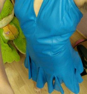 Платье (кожа) новое