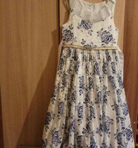 Платье нарядное 4-7 лет