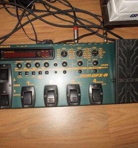 гитарный процессор ZOOM GFX-8