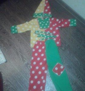 Новогодний костюм- петрушка