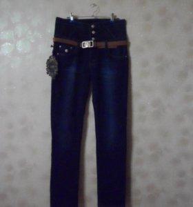 Новые зимние джинсы