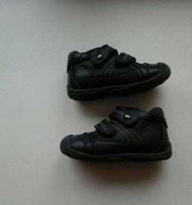 Кожаные ботинки garvalin.
