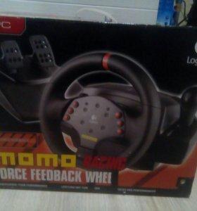 Руль Logitech MOMO Racing Force Feedback Whell