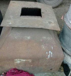 железный короб для каменки в баню