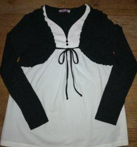 Кофточка блузка для беременных Newform