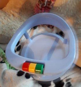 Стульчик для купания и круг