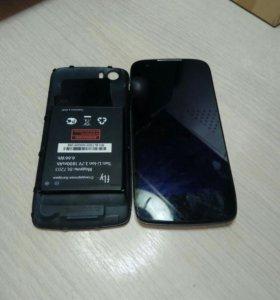 Телефон fly iq4405 quad (на запчасти).