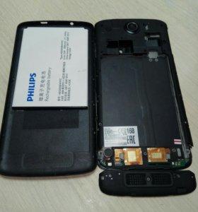 Телефон Philips i928 (на запчасти).