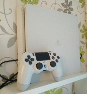 Приставка Sony playstation 4 Slim белая 500 Gb