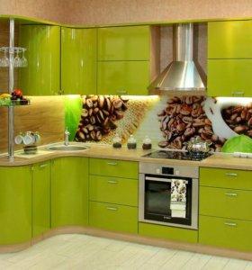 индивидуально на заказ кухонные гарнитуры