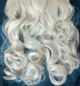 Накладные волосы на 5 клипсах(новые)