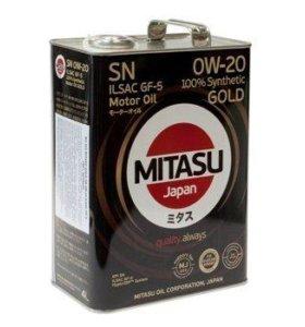 mitasu 0w20 4 литра