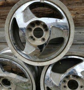 Кованные хромированные диски