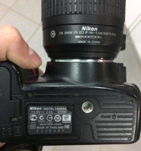 ФА Nikon d3100