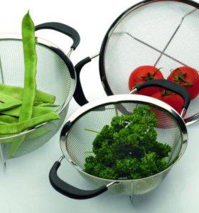 удобный дуршлаг для кухни