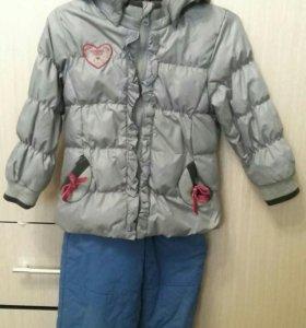 Зимний костюм Futurino б/у,на 3-4года
