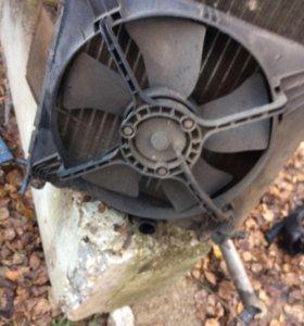 Радиатор охлаждения нексия ланос