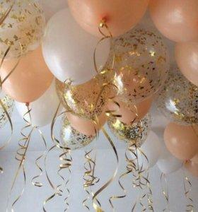 Оформление праздника. Гелиевые шары