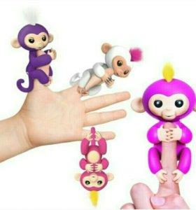 Интерактивная обезьянка FINGERLINGS все цвета